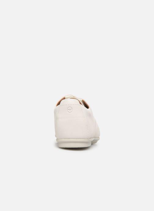 Zapatos con cordones Clarks Unstructured UN CORAI LACE Blanco vista lateral derecha