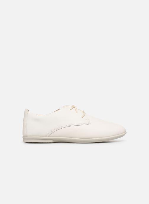 Chaussures à lacets Clarks Unstructured UN CORAI LACE Blanc vue derrière