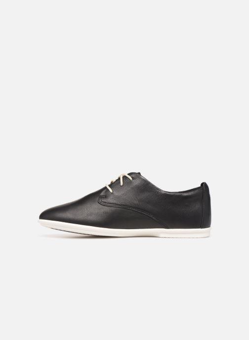Lace-up shoes Clarks Unstructured UN CORAI LACE Black front view