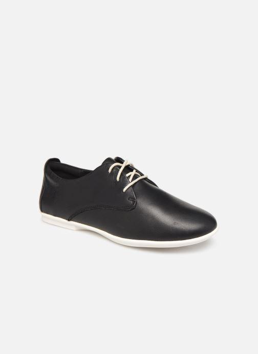 Chaussures à lacets Clarks Unstructured UN CORAI LACE Noir vue détail/paire
