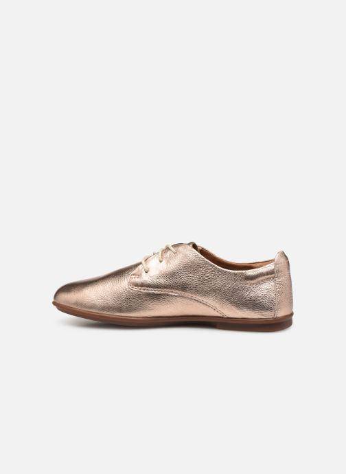 Zapatos con cordones Clarks Unstructured UN CORAI LACE Rosa vista de frente