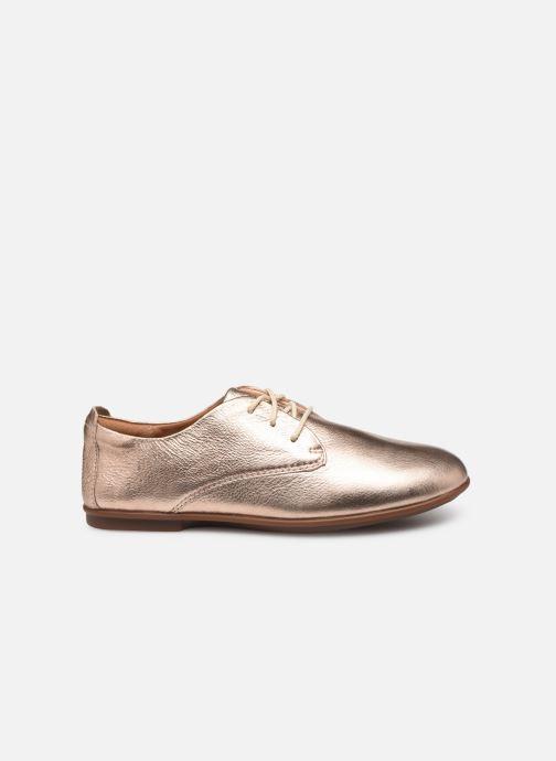 Chaussures à lacets Clarks Unstructured UN CORAI LACE Rose vue derrière