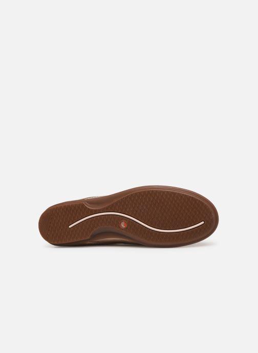 Chaussures à lacets Clarks Unstructured UN CORAI LACE Rose vue haut