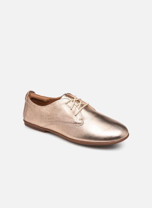 Snøresko Clarks Unstructured UN CORAI LACE Pink detaljeret billede af skoene