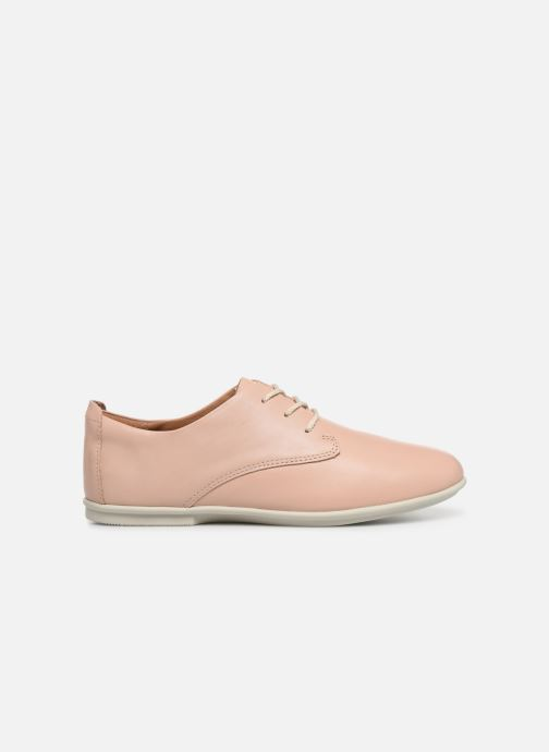 Chaussures à lacets Clarks Unstructured UN CORAL LACE Rose vue derrière