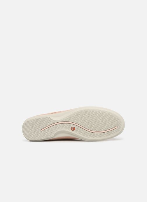 Lace-up shoes Clarks Unstructured UN CORAL LACE Pink view from above