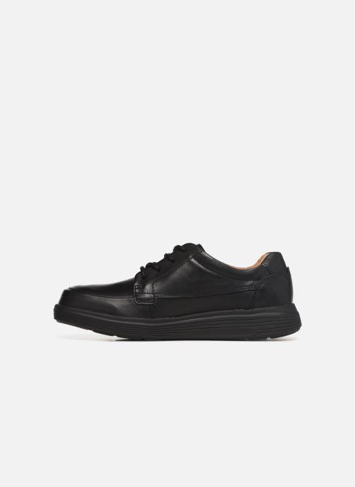 Sneaker Clarks Unstructured UN ADOB EASE schwarz ansicht von vorne