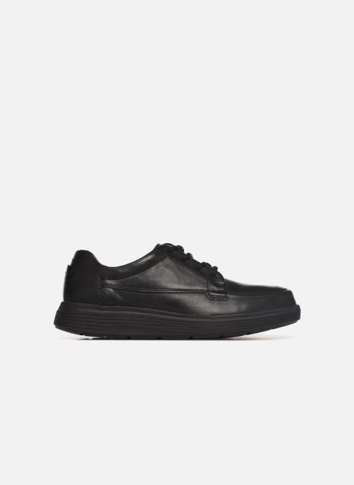 Sneaker Clarks Unstructured UN ADOB EASE schwarz ansicht von hinten