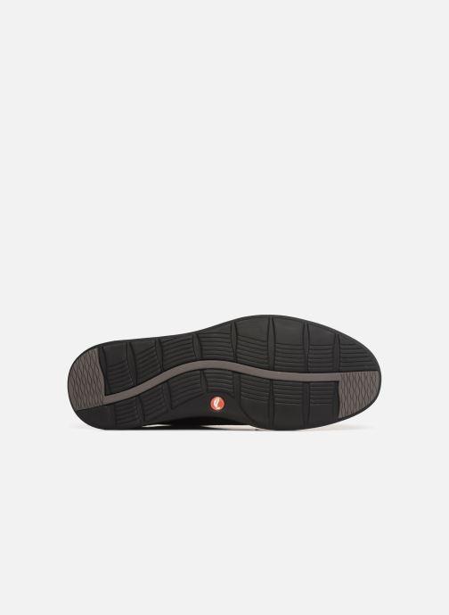 Sneaker Clarks Unstructured UN ADOB EASE schwarz ansicht von oben
