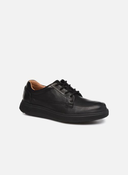 Sneakers Clarks Unstructured UN ADOB EASE Sort detaljeret billede af skoene