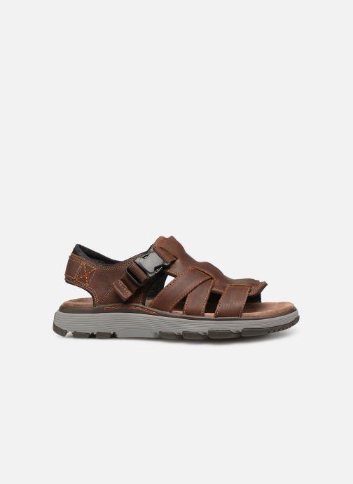 Sandales et nu-pieds Clarks Unstructured UN TREK COVE Marron vue derrière