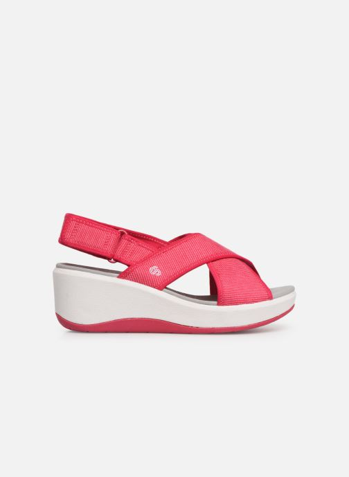 Sandalias Cloudsteppers by Clarks Step Cali Cove Rosa vistra trasera