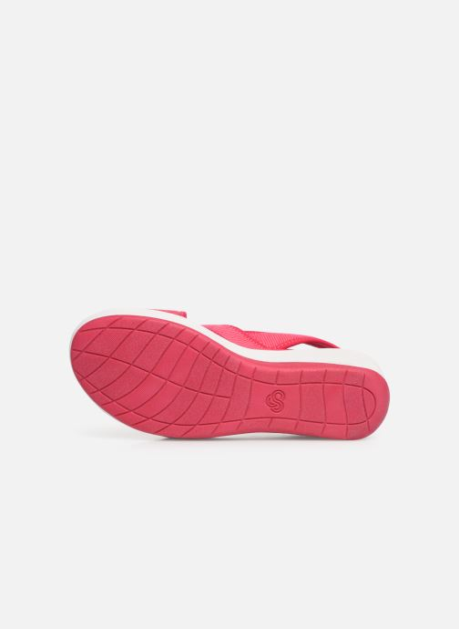 Sandalias Cloudsteppers by Clarks Step Cali Cove Rosa vista de arriba