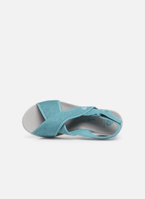 Sandales et nu-pieds Cloudsteppers by Clarks Step Cali Cove Bleu vue gauche
