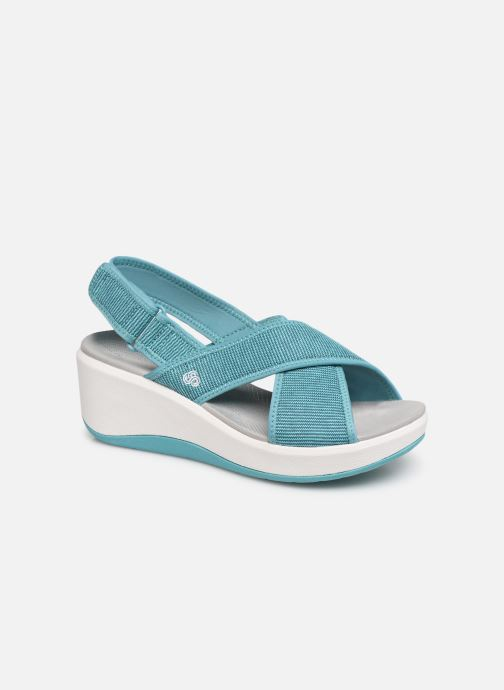 Sandales et nu-pieds Cloudsteppers by Clarks Step Cali Cove Bleu vue détail/paire
