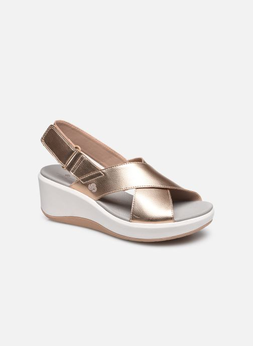 Sandalen Cloudsteppers by Clarks Step Cali Cove silber detaillierte ansicht/modell