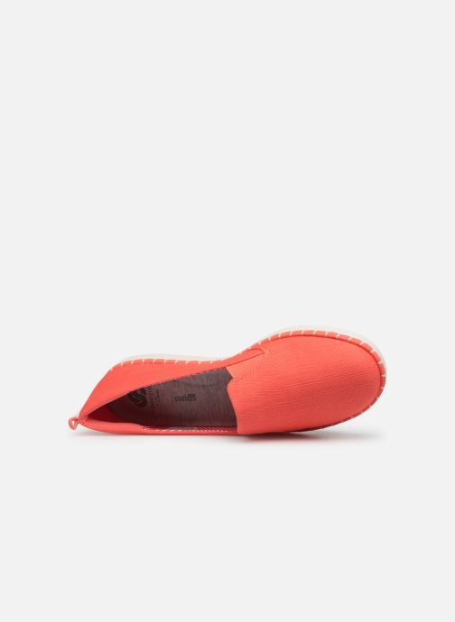 Mocassins Cloudsteppers by Clarks Step Glow Slip Rose vue gauche