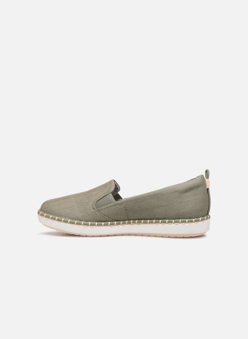 Mocassini Cloudsteppers by Clarks Step Glow Slip Verde immagine frontale