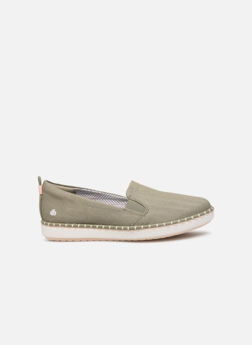 Mocassini Cloudsteppers by Clarks Step Glow Slip Verde immagine posteriore