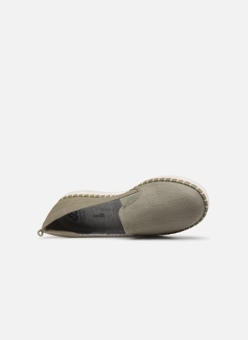 Mocassini Cloudsteppers by Clarks Step Glow Slip Verde immagine sinistra