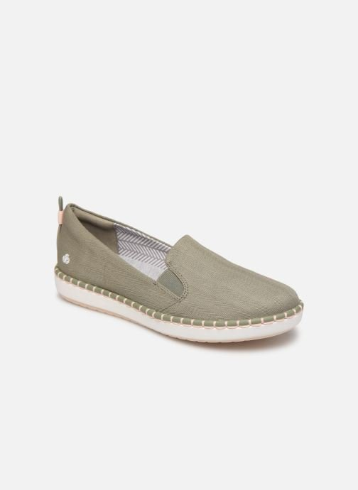 Mocassins Cloudsteppers by Clarks Step Glow Slip Groen detail