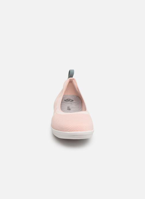 Ballerina Cloudsteppers by Clarks Ayla Paige Rosa bild av skorna på