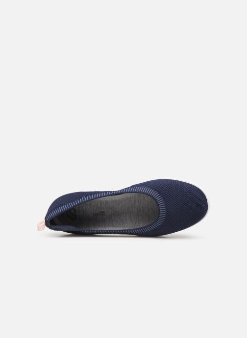 Ballerines Cloudsteppers by Clarks Ayla Paige Bleu vue gauche
