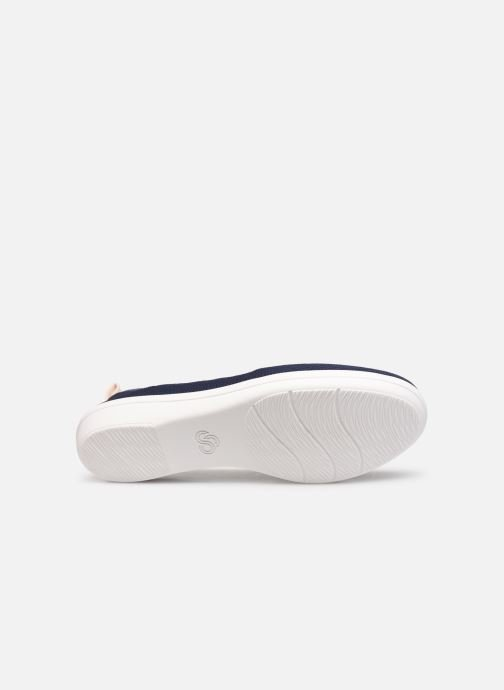 Ballerine Cloudsteppers by Clarks Ayla Paige Azzurro immagine dall'alto