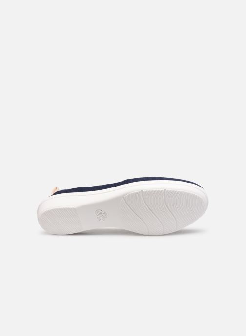 Ballerina's Cloudsteppers by Clarks Ayla Paige Blauw boven