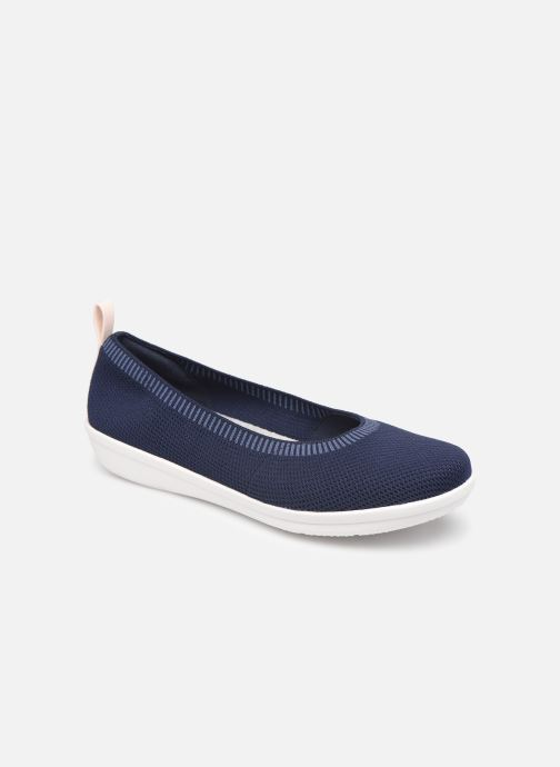 Ballerina's Cloudsteppers by Clarks Ayla Paige Blauw detail