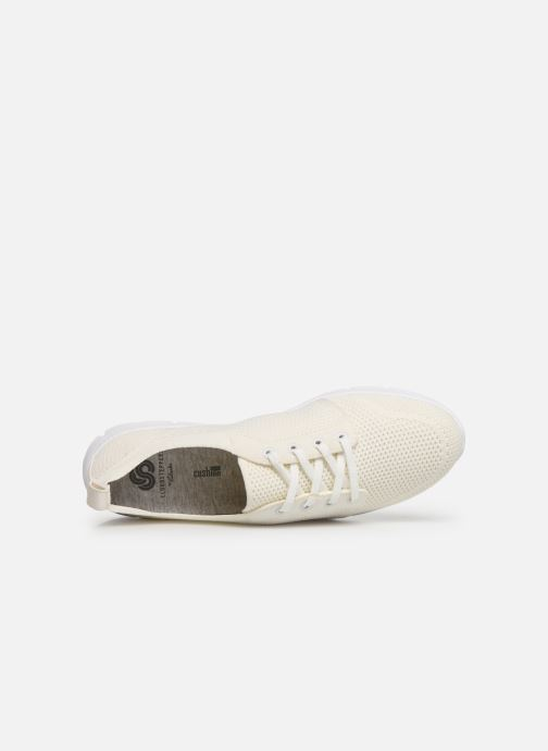 Baskets Cloudsteppers by Clarks Step Allena Sun Blanc vue gauche