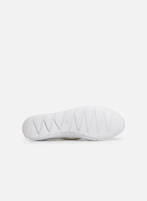 Baskets Cloudsteppers by Clarks Step Allena Sun Blanc vue haut