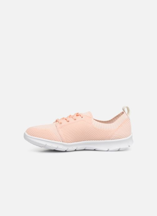 Trainers Cloudsteppers by Clarks Step Allena Sun Pink front view