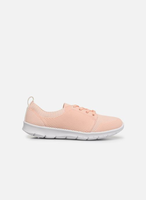 Trainers Cloudsteppers by Clarks Step Allena Sun Pink back view