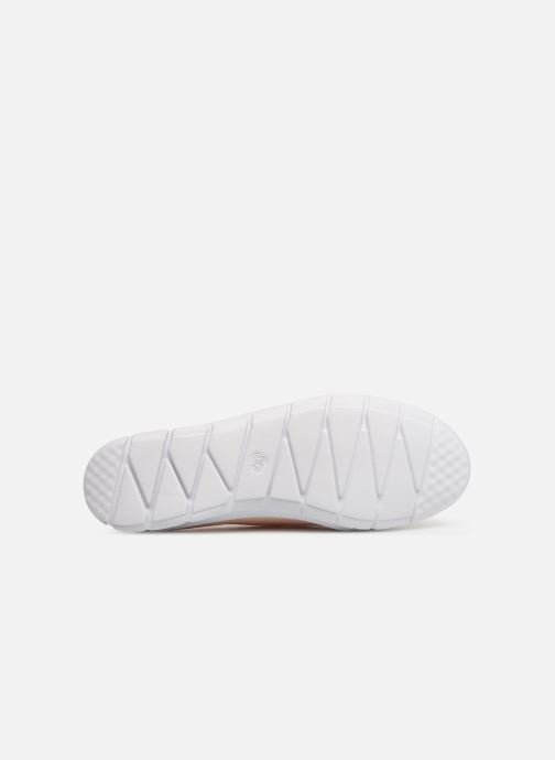 Trainers Cloudsteppers by Clarks Step Allena Sun Pink view from above