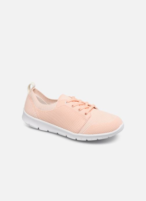 Trainers Cloudsteppers by Clarks Step Allena Sun Pink detailed view/ Pair view