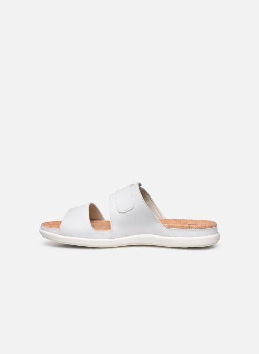 Zoccoli Cloudsteppers by Clarks Step June Tide Bianco immagine frontale