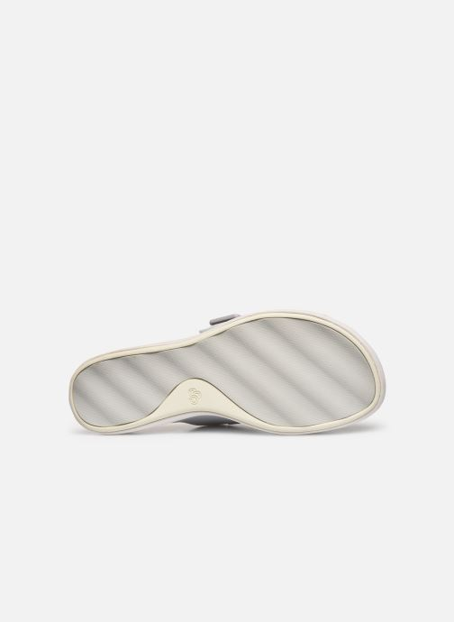 Zoccoli Cloudsteppers by Clarks Step June Tide Bianco immagine dall'alto