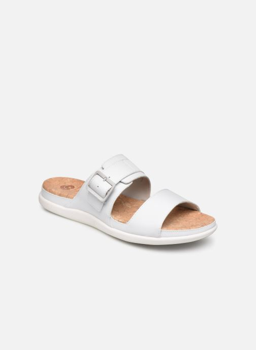 Zoccoli Cloudsteppers by Clarks Step June Tide Bianco vedi dettaglio/paio