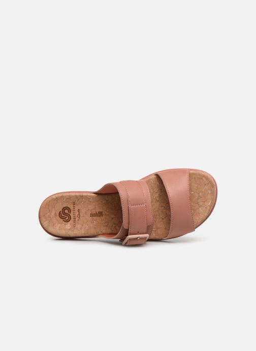 Mules et sabots Cloudsteppers by Clarks Step June Tide Rose vue gauche