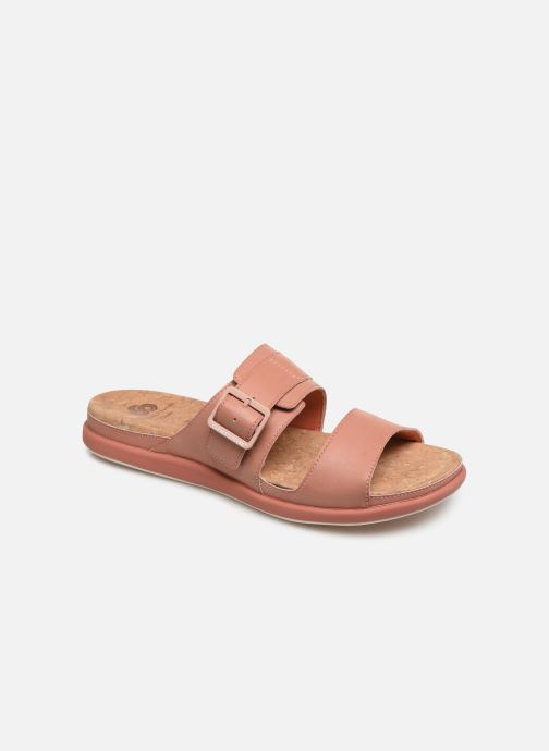 Mules et sabots Cloudsteppers by Clarks Step June Tide Rose vue détail/paire