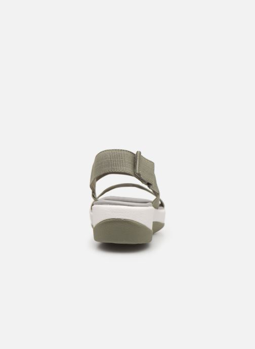 Sandales et nu-pieds Cloudsteppers by Clarks Arla Jacory Vert vue droite