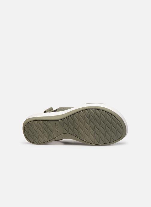 Sandales et nu-pieds Cloudsteppers by Clarks Arla Jacory Vert vue haut