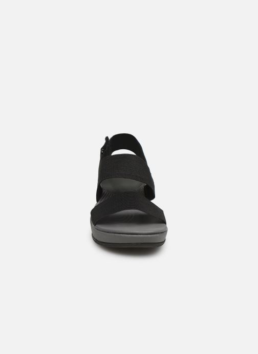 Sandals Cloudsteppers by Clarks Arla Jacory Black model view