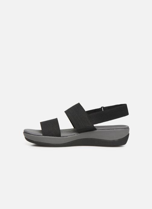 Sandales et nu-pieds Cloudsteppers by Clarks Arla Jacory Noir vue face