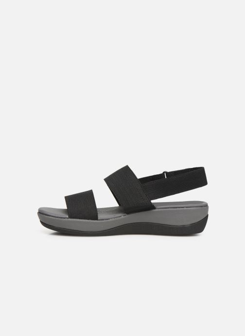 Sandals Cloudsteppers by Clarks Arla Jacory Black front view