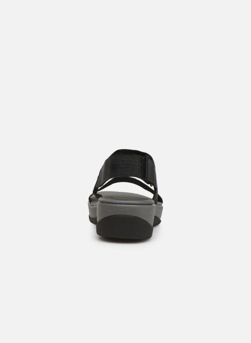 Sandales et nu-pieds Cloudsteppers by Clarks Arla Jacory Noir vue droite