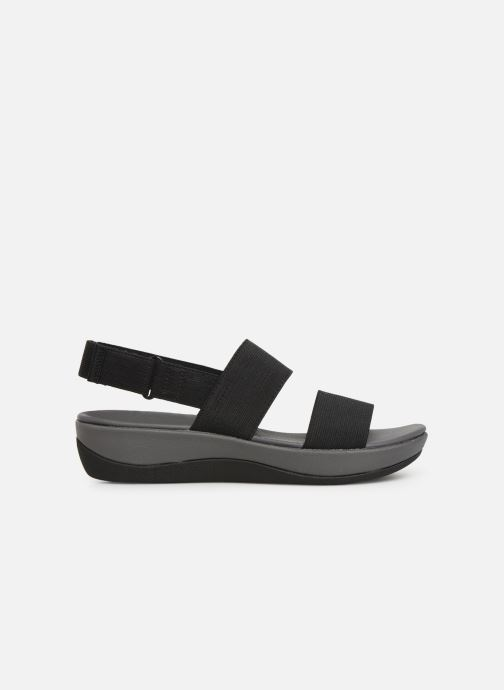 Sandals Cloudsteppers by Clarks Arla Jacory Black back view