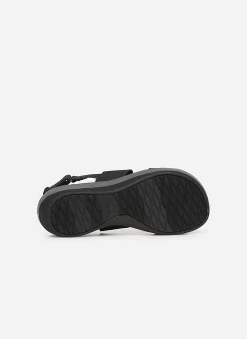 Sandals Cloudsteppers by Clarks Arla Jacory Black view from above