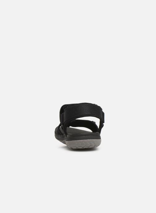 Sandales et nu-pieds Cloudsteppers by Clarks Step Beat Sun Noir vue droite